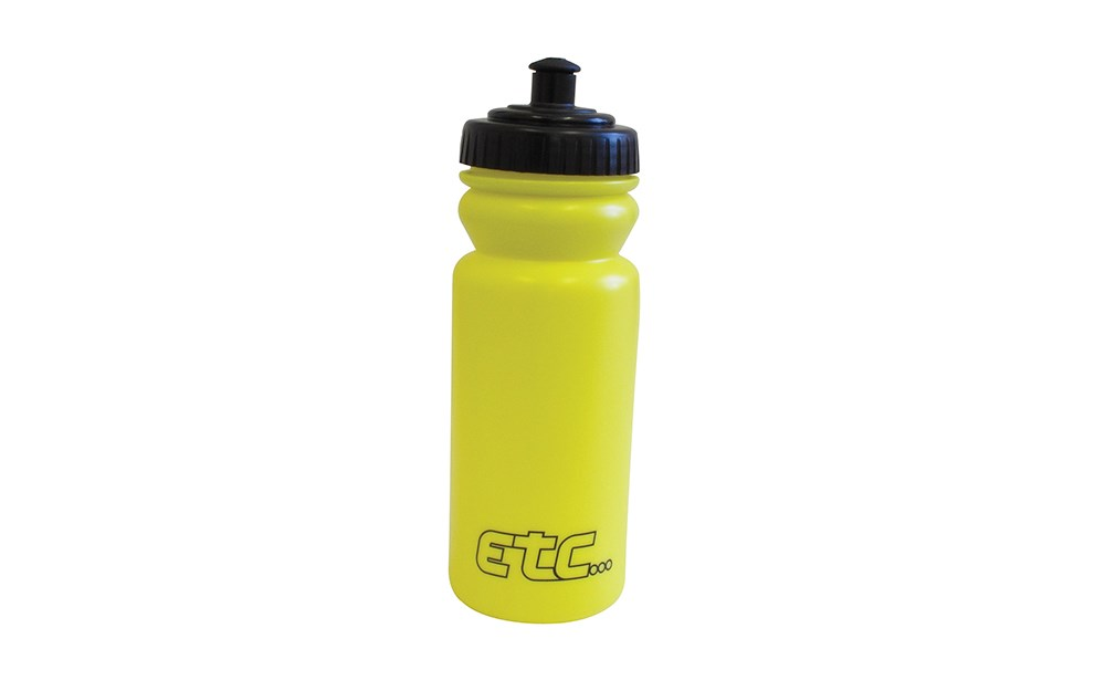 ETC Bicycle Cycle Bike 600ml Wide Neck Water Drink Fluid Bottle Red EBO02RED